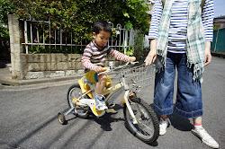 補助つき自転車