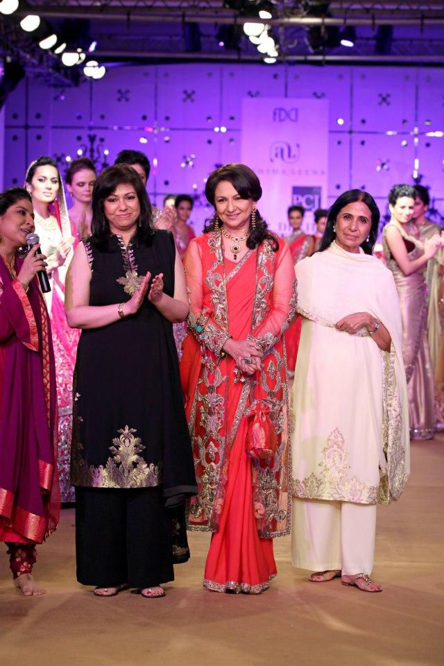 PCJ Delhi Couture Week 2012 - Ashima  Leena