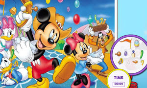Hidden Objects Mickey Mouse
