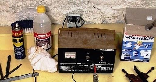 Electronique et electricite l 39 electrolyse pour derouiller - Difference entre cristaux de soude et bicarbonate de soude ...