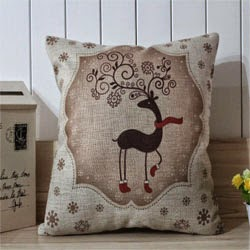 Best Gift Christmas EIK Linen Pillow Case