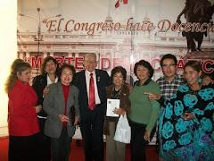 Con amigos y Tobías  López Carbajal