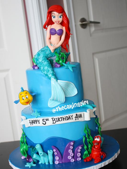 Ho Mermaid Cakes