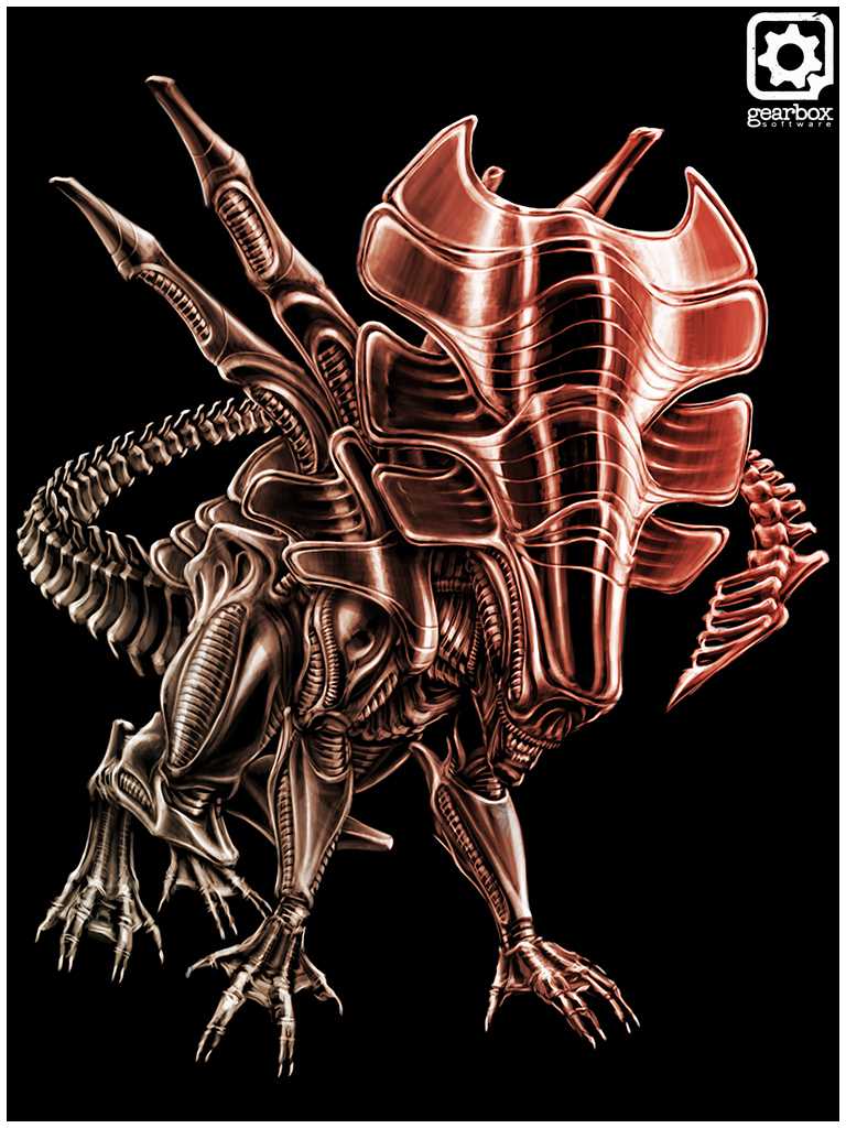 Xenomorph concepts and explorations created for Aliens  Colonial    Xenomorph Types Aliens Colonial Marines