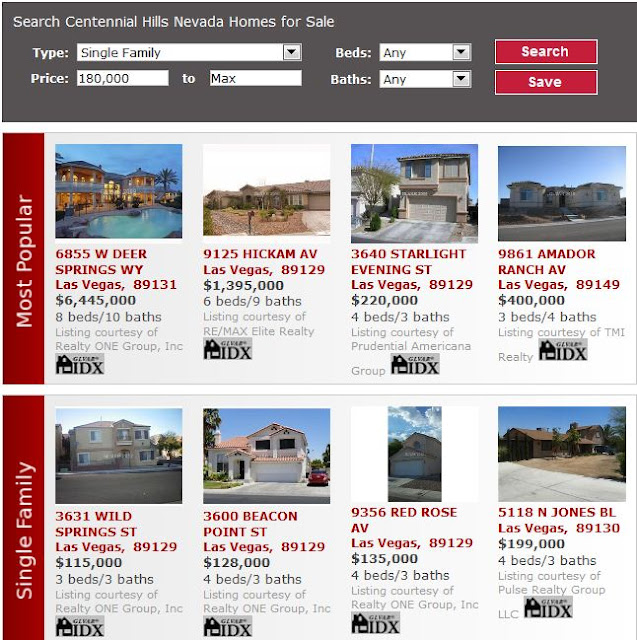 check out these centennial hills homes in northwest las vegas