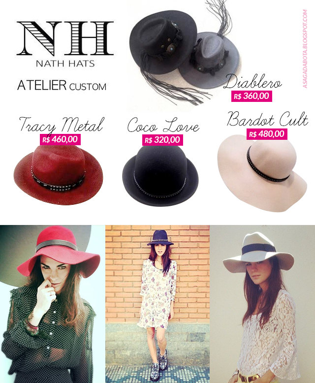 Estilo, made in brazil, chapéu, blog A Produção