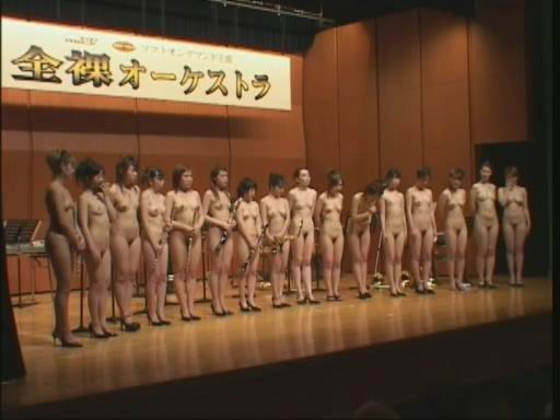 nude asian orchestra