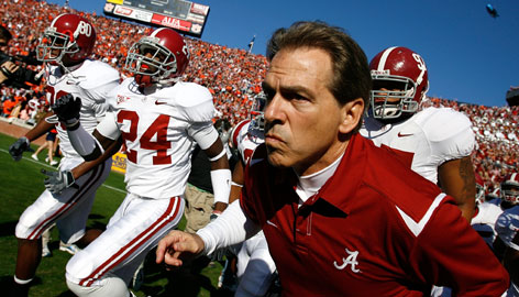 Saban Says 'Hell No' to Playoff Proposal