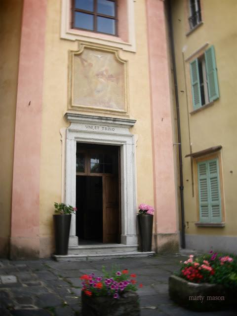 An Italian front door