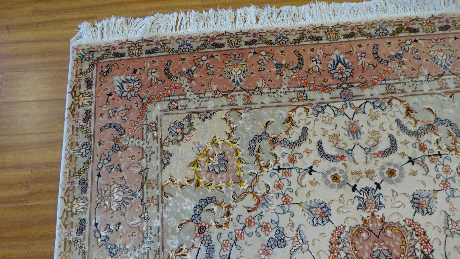 The Size Of Her Second Tabriz Rug Is 6u0027 6
