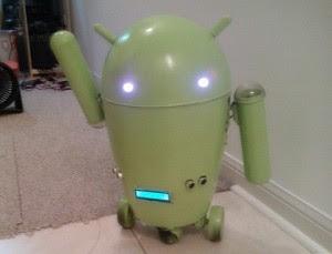 Tempat Sampah Berevolusi Menjadi Robot Android