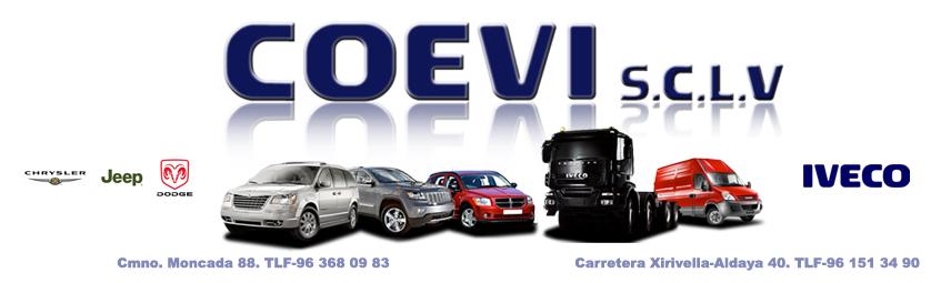 COEVI Servicio oficial Chrysler, Jeep, Dodge e Iveco en Valencia
