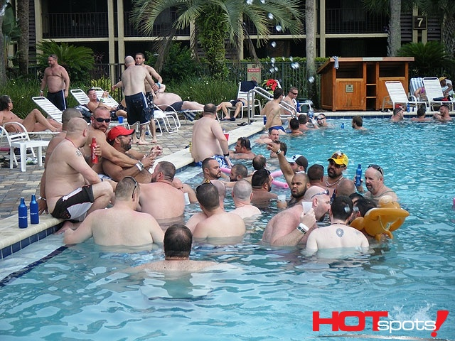 Gay Bear Pool Party