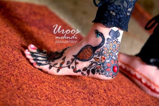 Pretty Bridal Hand & Feet Mehndi Designs 2014-Mehndi