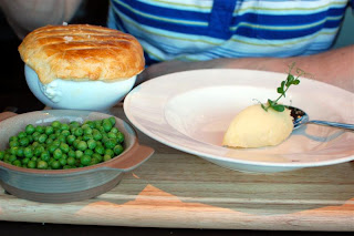 Stitch and Bear - Wicklow lamb and shallot pie at the Box Tree