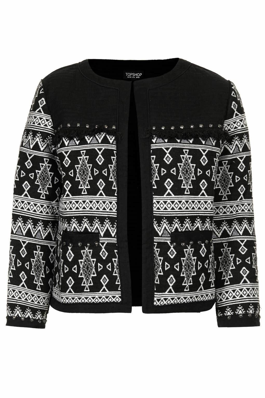 black folk jacket