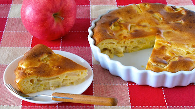 How To Make Yogurt Pomme Pomme Easy Apple Cake Video Recipe