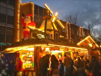 Weihnachtsmarkt 2013 in Leer, Ostfriesland, Germany.