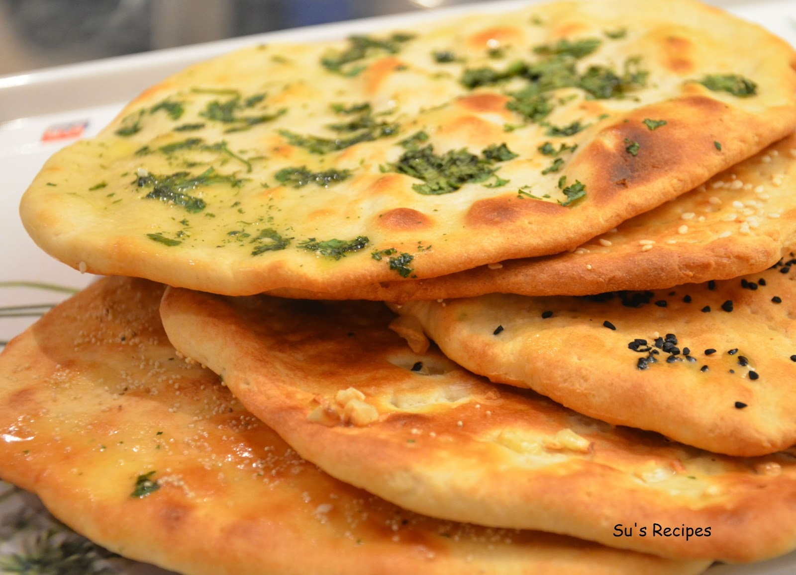 Su's Recipes: Naan - Indian Bread