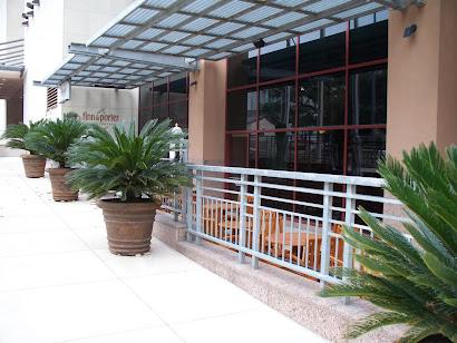Hilton Convention Center Hotel Streetscape **