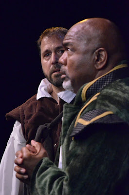 response to a production of othello Why they're doing shakespeare in prison  brown landed the role of othello in a marin shakespeare company production  it was a simple call and response,.