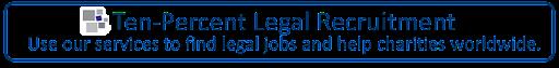 Legal Recruitment from Ten-Percent Legal