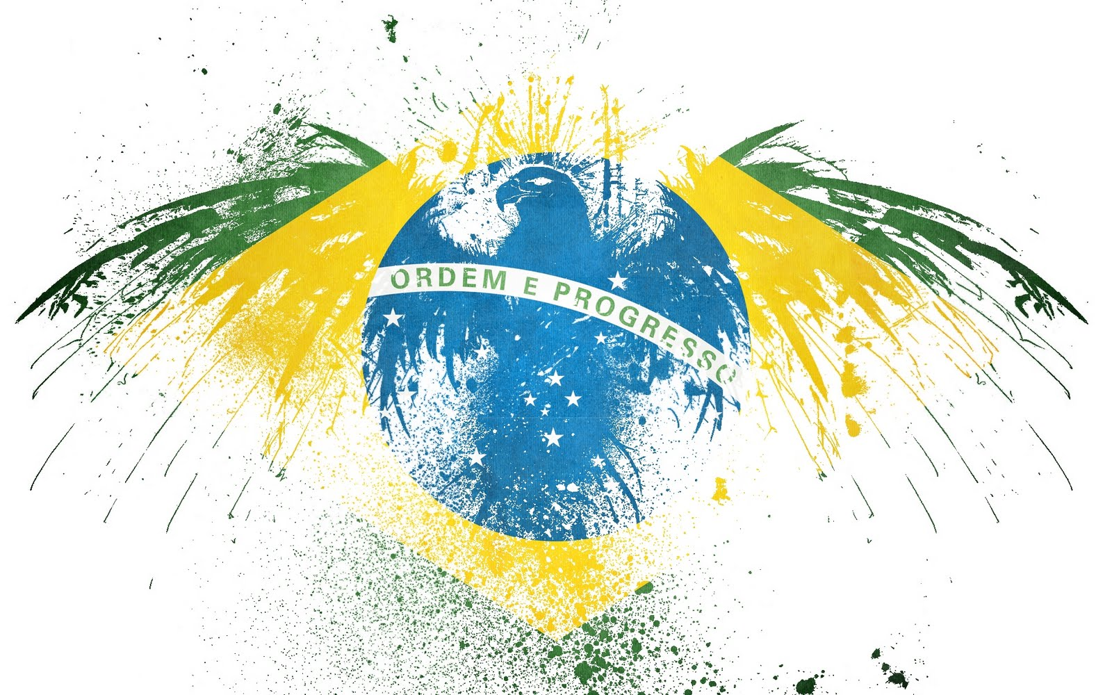 Desfile - Poké-Estilista: Colorful Party Brazil+Flag+Wallpaper-10