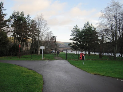 Deeside walks: the path around Ballater Golf Course approaches the River Dee