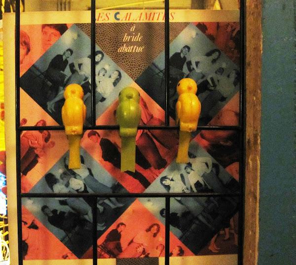Les Calamités - Toutes les nuits - 1984 LP - New Rose - 1984 - France  a bride abattue