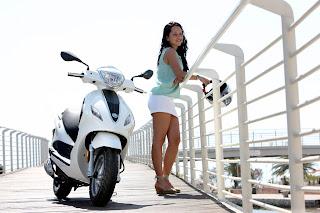 girls ride 2013 Piaggio Fly 50