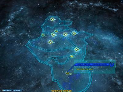 SWTOR - Galaxy Map