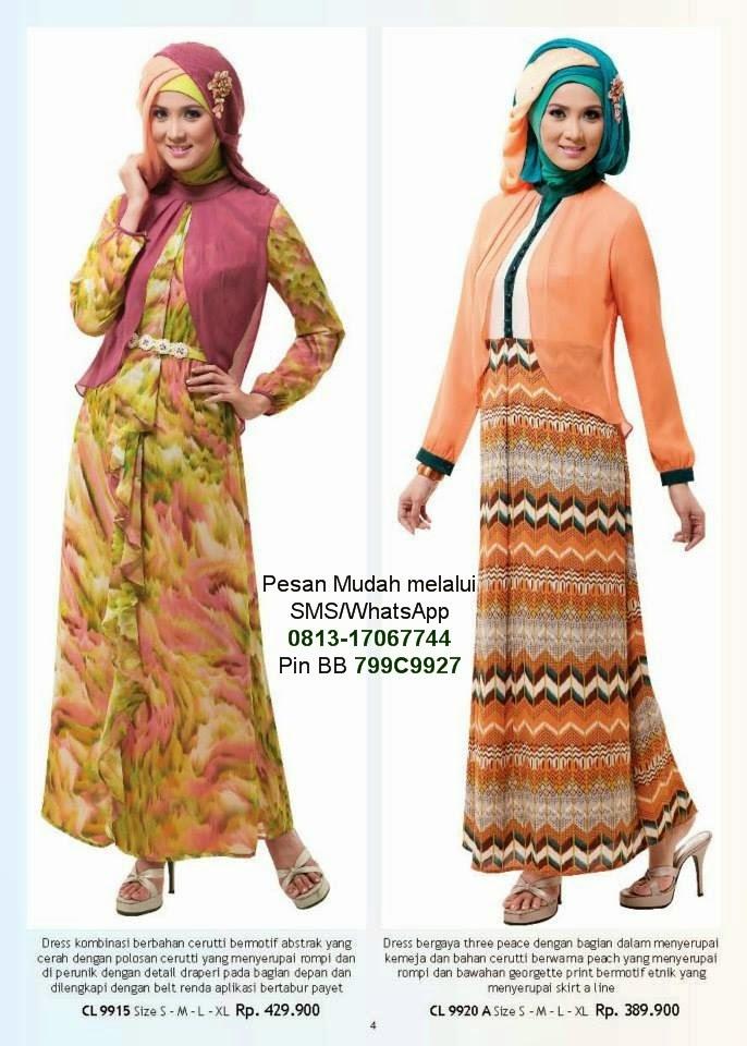 Baju Lebaran Anak Wanita Cantik Berbaju Muslim