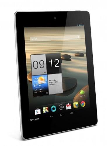 Display in formato 4:3 con diagnonale da 7,9 pollici e tecnologia LED IPS per il nuovo tablet di fascia media di Acer
