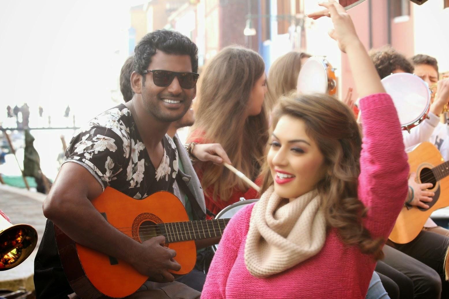 Vishal's Maga Maharaju Movie Stills | Hansika