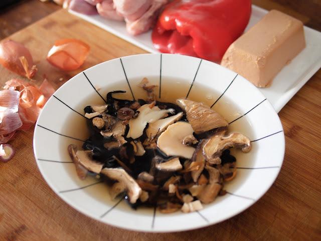 receta arroz con setas