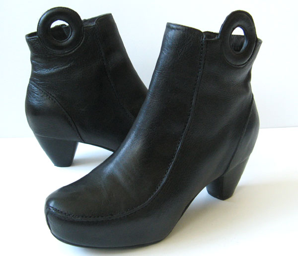 Cool Shoes Womens Boots Coach Hickory Soft Shine Women Leather Black Ankle