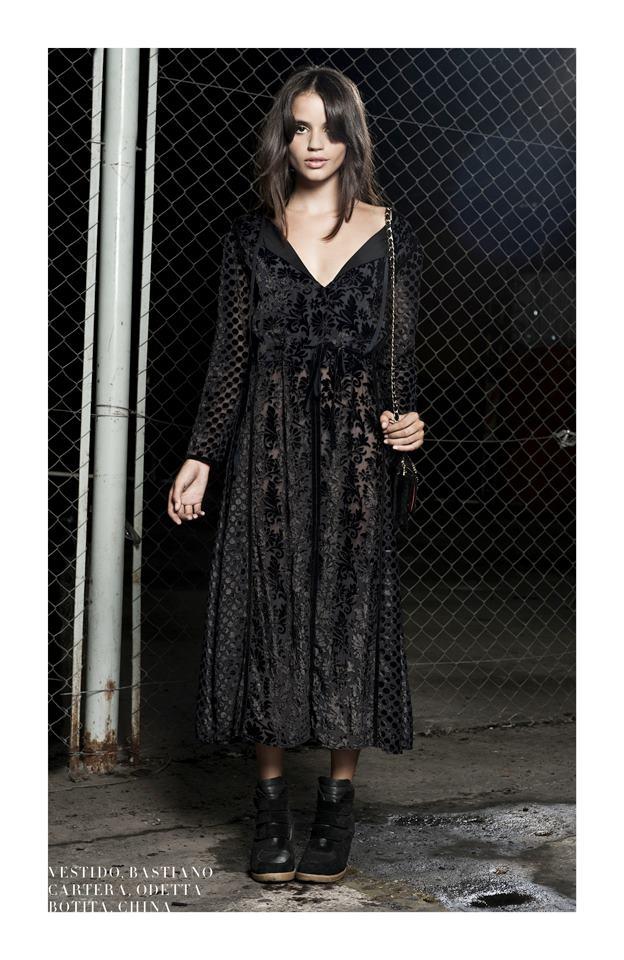 vestidos largos invierno 2013 Delaostia