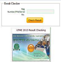check 2013 utme jamb result