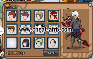 Cheat Valentine's 2013 Battle Package Ninja Saga Free