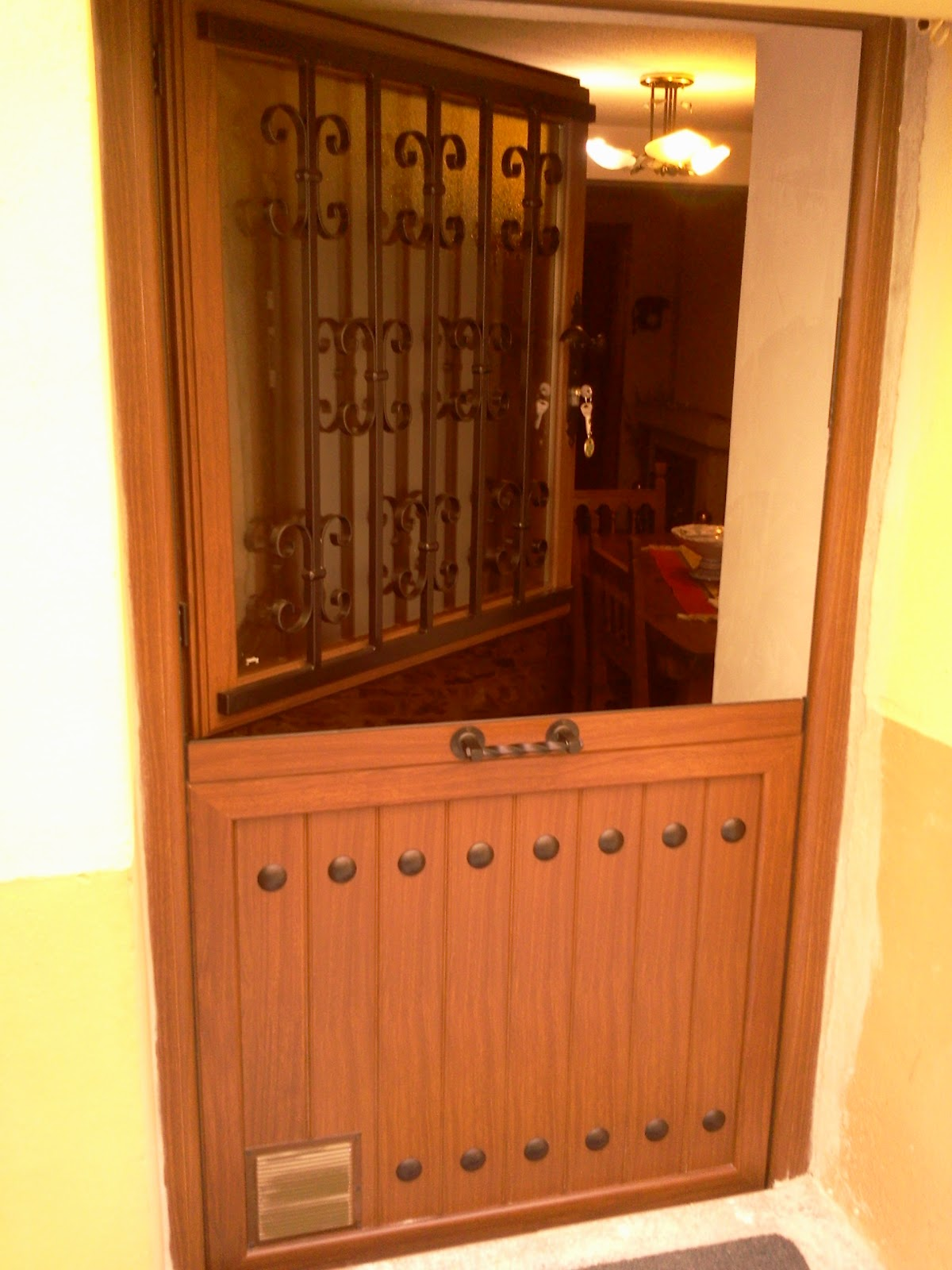 Puertas Rusticas De Aluminio Free Barandilla Forja Rustica Buscar  ~ Puertas De Entrada De Aluminio Rusticas