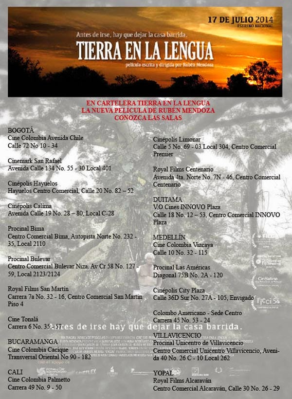 TIERRA-EN-LA-LENGUA-CARTELERA-salas-ciudades-Director-Ruben-Mendoza
