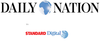 Standard Digital outsmarts Daily Nation Popularity in the Kenyan Online Market- Statistics