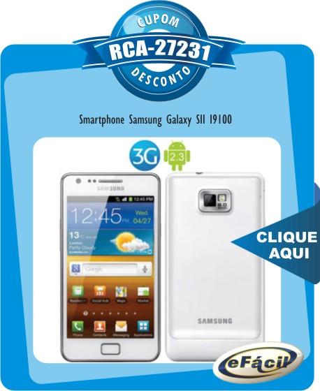 Cupom Efácil - Smartphone Samsung Galaxy S II I9100