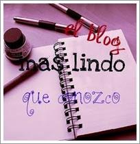 Segundo Premio 'Blog más Lindo que Conozco'