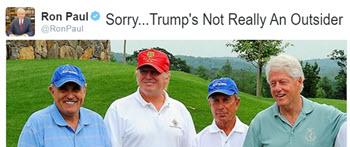 Ron Paul on Donald Trump