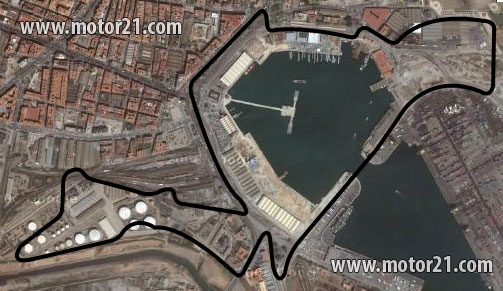 Circuito Urbano De Valencia : MigÜeb gp europa