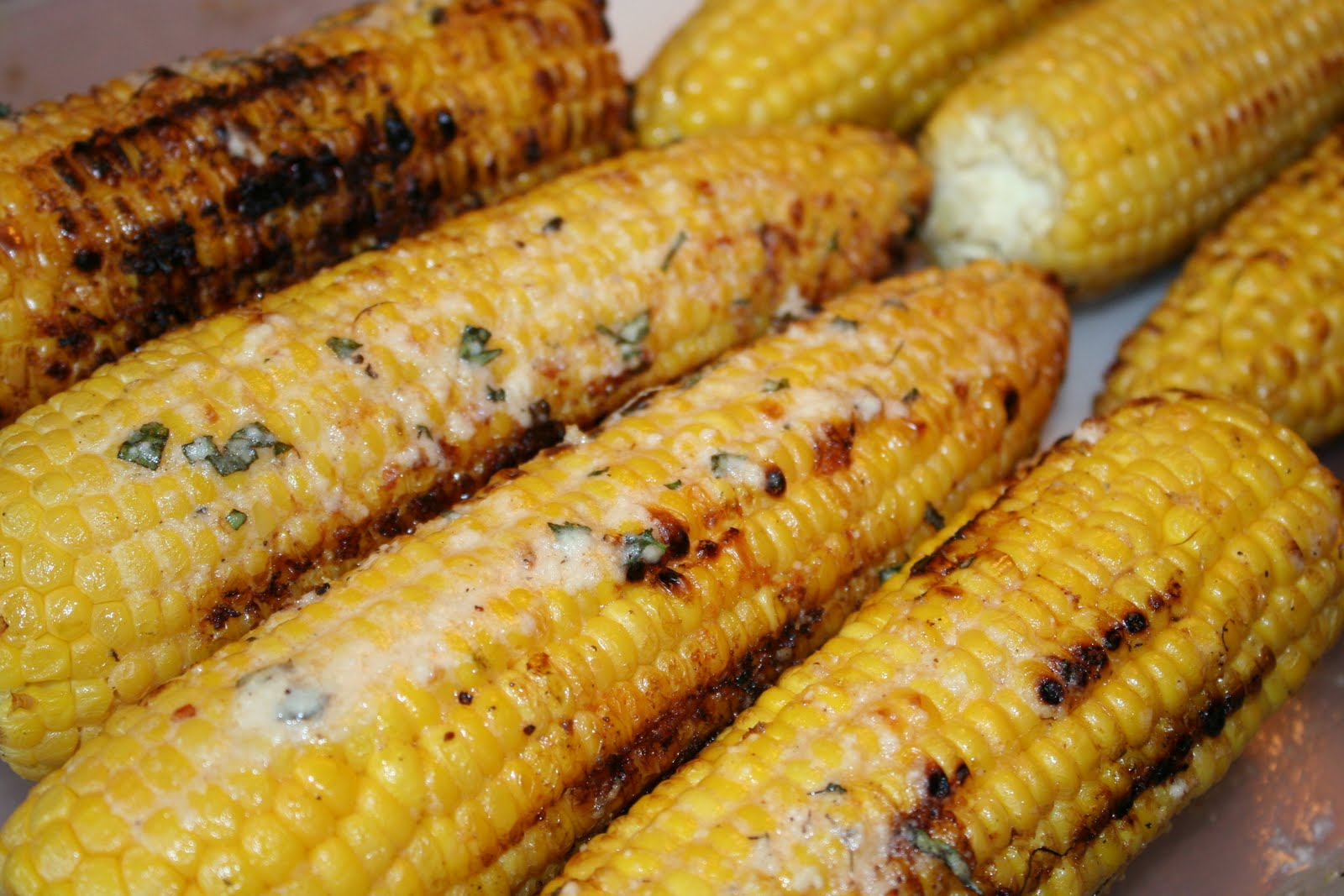 carolynn's recipe box: Grilled Corn on the Cob with Chili-Lime Butter
