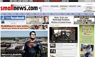 Hutchinson, KS becomes Smallville for a day