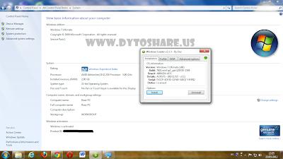 Untitled Windows Loader 2.1.3 by Daz