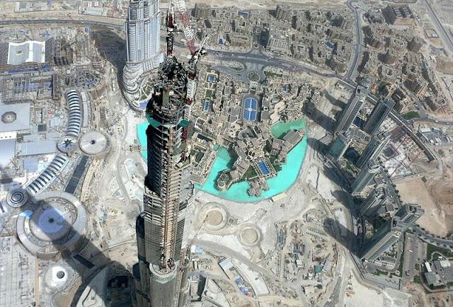 Burj Dubai Cele mai inalte cladiri din lume celemaifrumoasepoze.blogspot.ro
